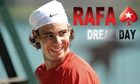 Rafa Nadal partecipa al torneo di beneficenza di Praga